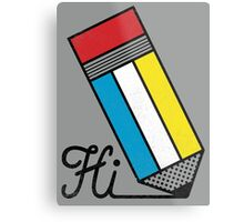 Mondrian: Greeting #2 Metal Print