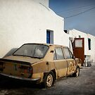 Deadcar on Santorini by Mark Hayward