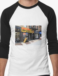 New York City Shop Men's Baseball ¾ T-Shirt