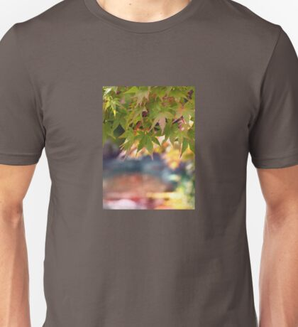 Green maples and Fall color Unisex T-Shirt
