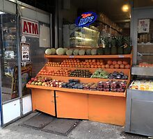 New York City Fruit Stand by Frank Romeo