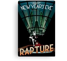 BioShock New Year's in Rapture Canvas Print