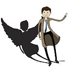 Castiel Time by Brittany Cofer