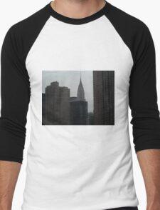 New York City - Chrysler Building Men's Baseball ¾ T-Shirt