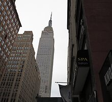 New York City - Empire State Building by Frank Romeo