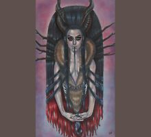 Lady Krampus Womens Fitted T-Shirt