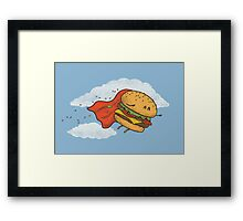 Superburger! Framed Print