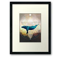 A Whale's Dream Framed Print