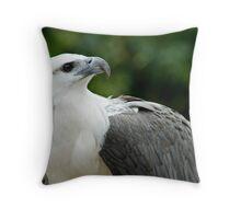 Nobility - White Bellied Sea Eagle Throw Pillow