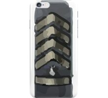 Silver elite master iPhone Case/Skin
