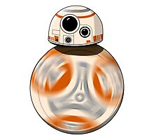 Star Wars: The Force Awakens  BB-8 Photographic Print