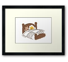 Breakfast In Bed Framed Print