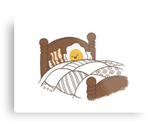 Breakfast In Bed Metal Print