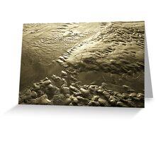 Lava Look-a-Like Greeting Card