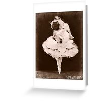 pug dance Greeting Card