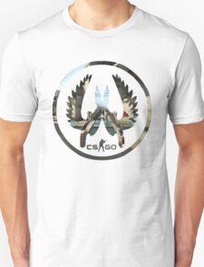 CS:GO CT LOGO MapMash T-Shirt