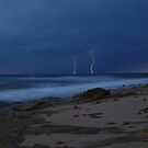 lightning at dusk by KeepsakesPhotography Michael Rowley