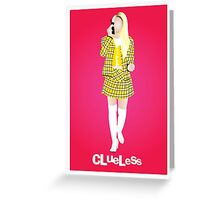 Cher (Clueless) Greeting Card