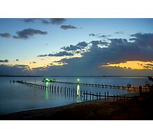 Sunrise On Indian River Photographic Print