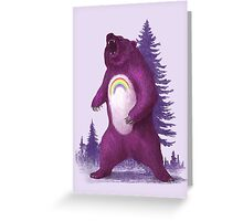 Scare Bear  Greeting Card