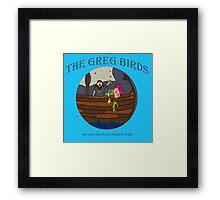 The Greg Birds - Seven Seas Framed Print