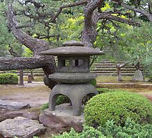 Lantern at Nijo-jo Castle - Kyoto, Japan by Craftymizz