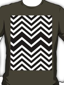 Retro Zig Zag Chevron Pattern T-Shirt