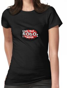 Little Red Robot Logo Tee (RED) Womens Fitted T-Shirt