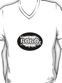 Little Red Robot Logo Tee (GREY) T-Shirt