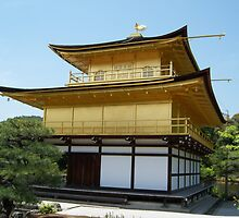 Kinkakuji Golden Temple - View 2 - Kyoto, Japan by Craftymizz