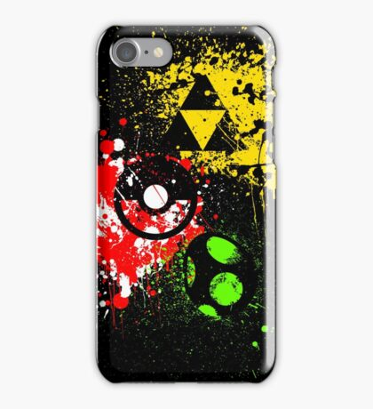 Super Smash Paint Bros. iPhone Case/Skin
