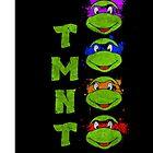 TMNT Paint Splater Grunge by LexingtonD