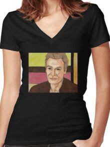 A New Man - Ethan Rayne Women's Fitted V-Neck T-Shirt