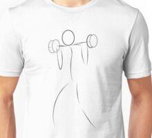 Weightlifter Unisex T-Shirt