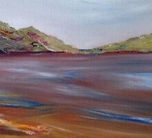 Lake Hume Evening by Helen M White