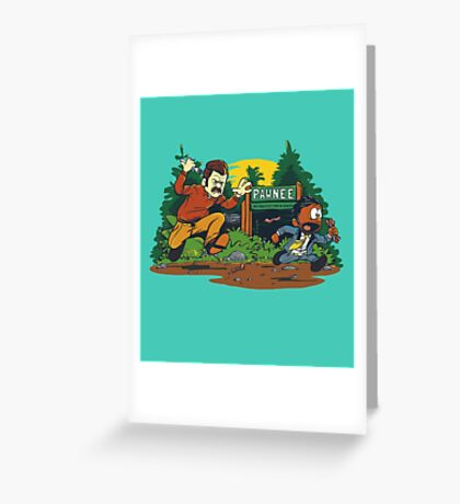 Ron & Tom Greeting Card