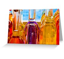 Bouteilles en Provence Greeting Card