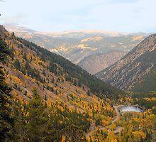 Colorado Mountain Lake #1 by Tony L. Callahan