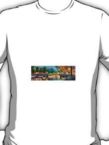 Amsterdam, Early Morning — Buy Now Link - www.etsy.com/listing/213554864 T-Shirt