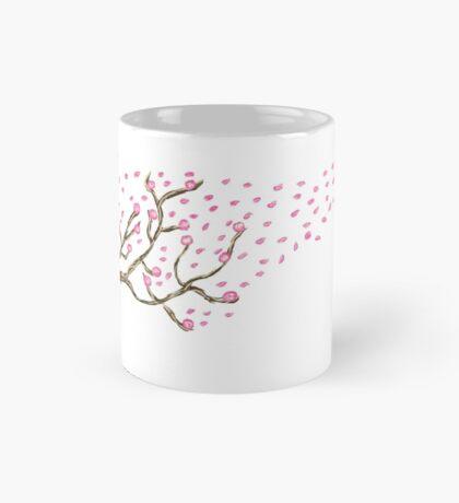 Cherry Tree Digital Illustration Mug