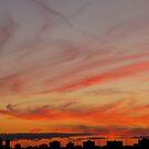 Smoke-ringed sky by MarianBendeth