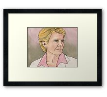 The I In Team - Maggie Walsh - BtVS Framed Print