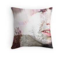 WOW...  wow... (he is fine) Throw Pillow