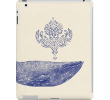 Damask Whale  iPad Case/Skin
