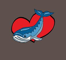 i heart whales Unisex T-Shirt