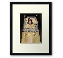 This Year's Girl - Faith - BtVS Framed Print