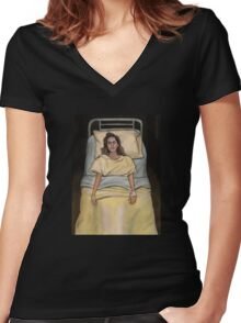This Year's Girl - Faith - BtVS Women's Fitted V-Neck T-Shirt