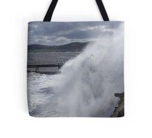 Angry sea.  Tote Bag