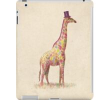 Fashionable Giraffe iPad Case/Skin