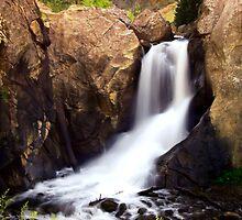 Boulder Falls #1 by Tony L. Callahan